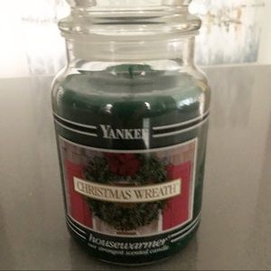 """Yankee Candle """"Christmas Wreath"""" Scent NEW"""